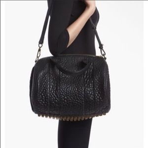 ALEXANDER WANG Rockie bag with gold hardware